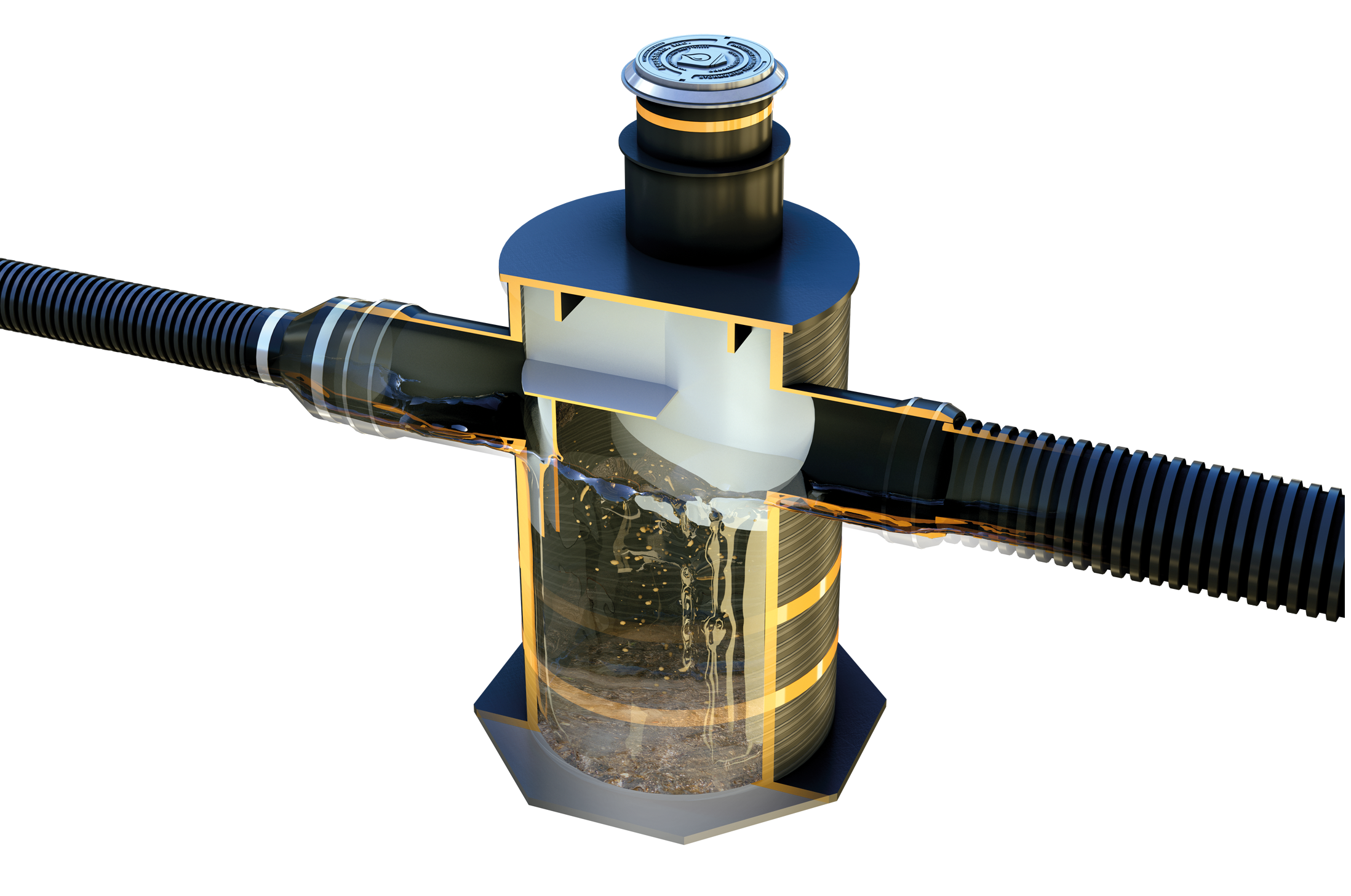 SDS Aqua-Swirl Vortex Separator